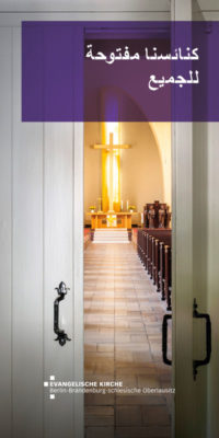 Unsere Kirchen – offen für alle - arabisch
