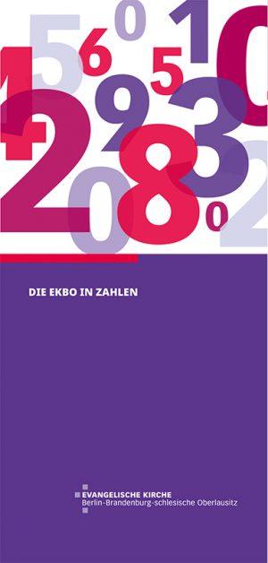 Statistik Flyer - Die EKBO in Zahlen