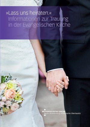 Trauung Broschüre