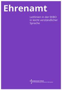 Ehrenamt – Leitlinien in der EKBO